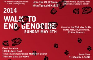 Walk to End Genocide