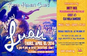 Hawai'i Club Annual Luau