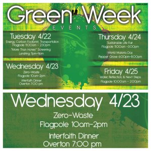 Green Week: Zero Waste