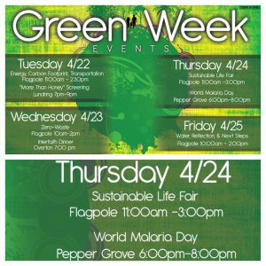 Green Week: Sustainable Life