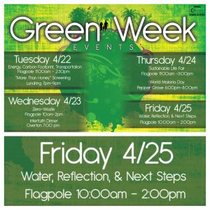 Green Week: Reflect & Commit