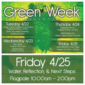 Green Week: Reflect & Commit