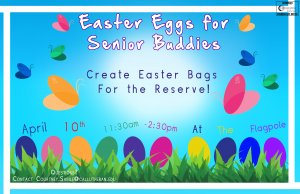 Easter Eggs for Senior Buddies