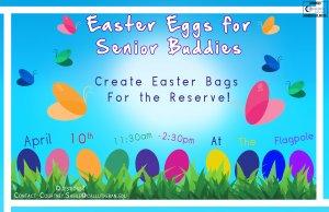 Easter Eggs for Senior Buddies
