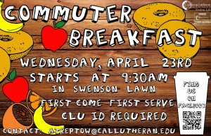 Green Week Commuter Breakfast
