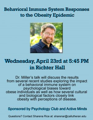 Behavioral Immune System Responses to the Obesity Epidemic