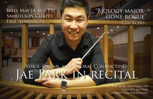 Jae Park in Recital