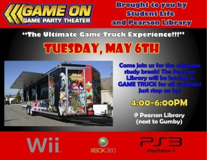 Release the Stress Before the Test - Video Game Truck!