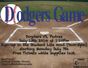 Dodgers vs. Padres SOLD OUT