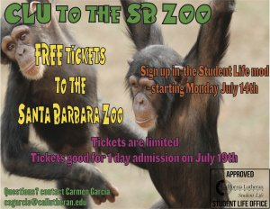 CLU to the SB Zoo
