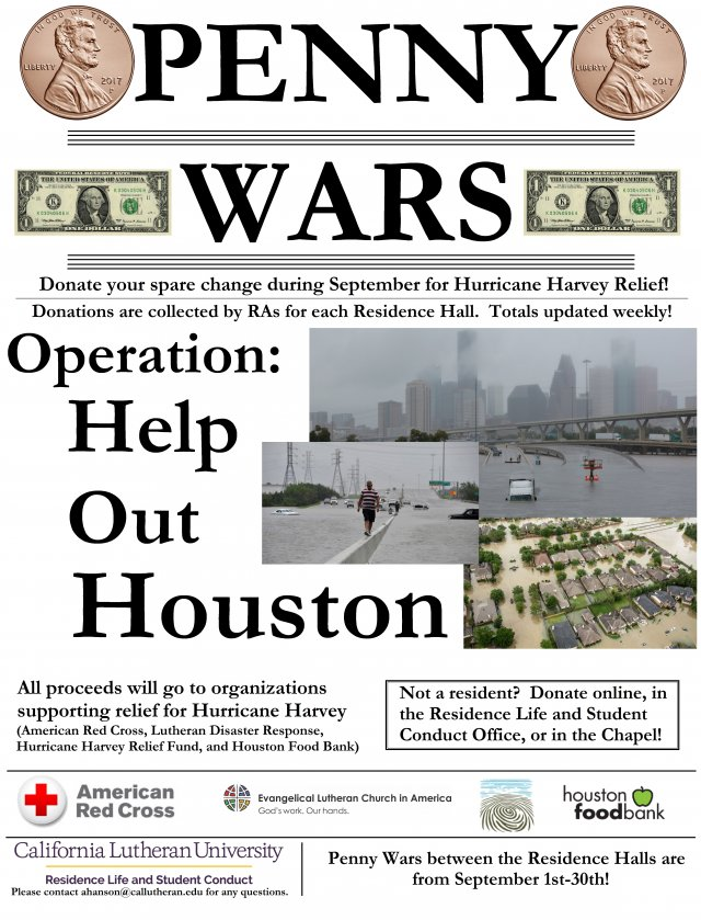 Penny Wars! Operation: Help Out Houston