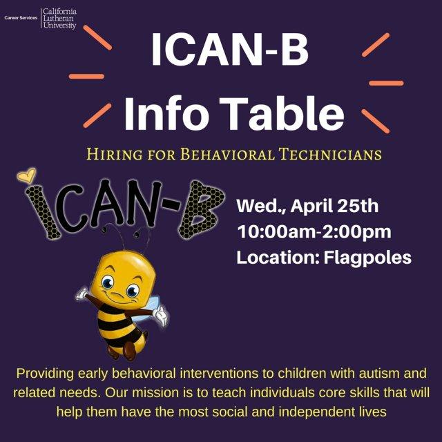 ICAN-B Info Table
