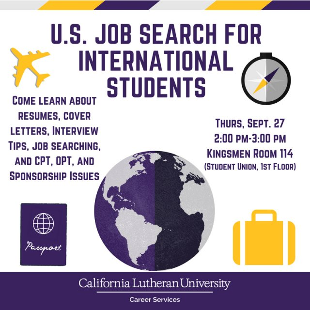 U.S. Job Search for Internationals