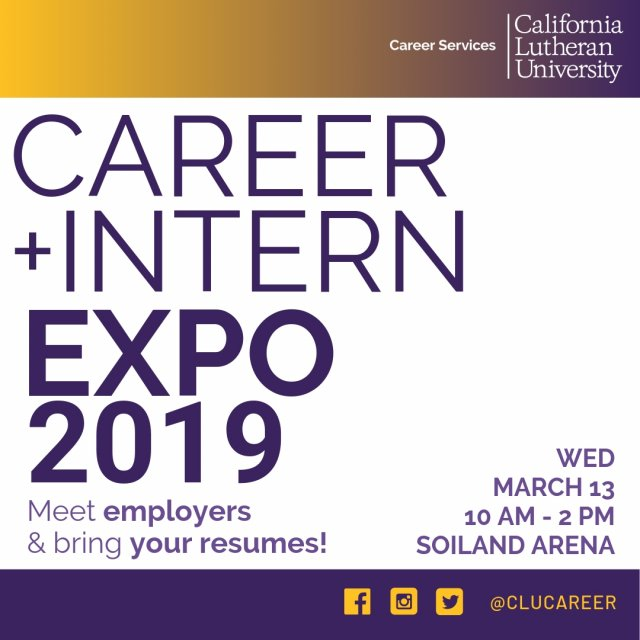 Career & Intern Expo 2019