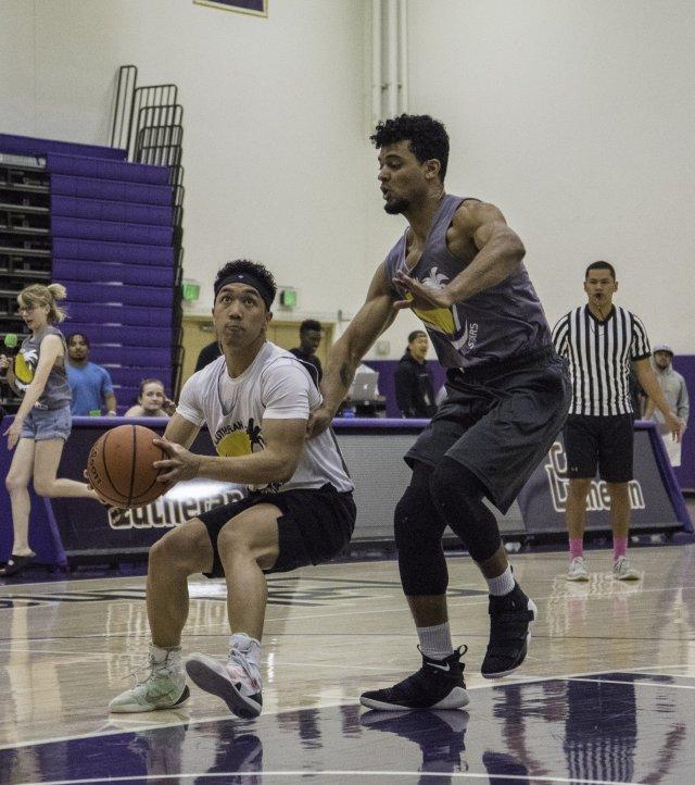 Intramural Basketball, Week 8