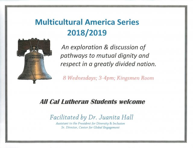 Multicultural America Series 2018/2019
