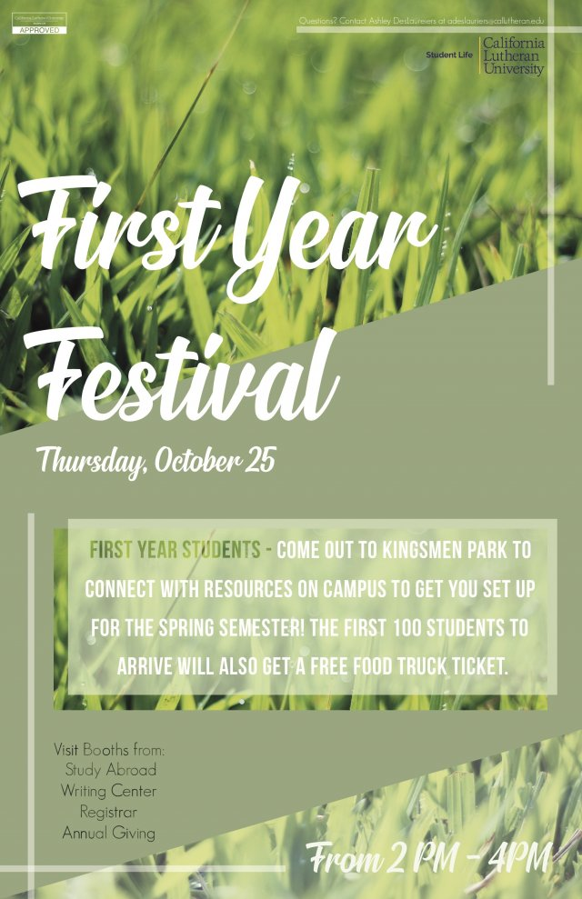 First Year Festival