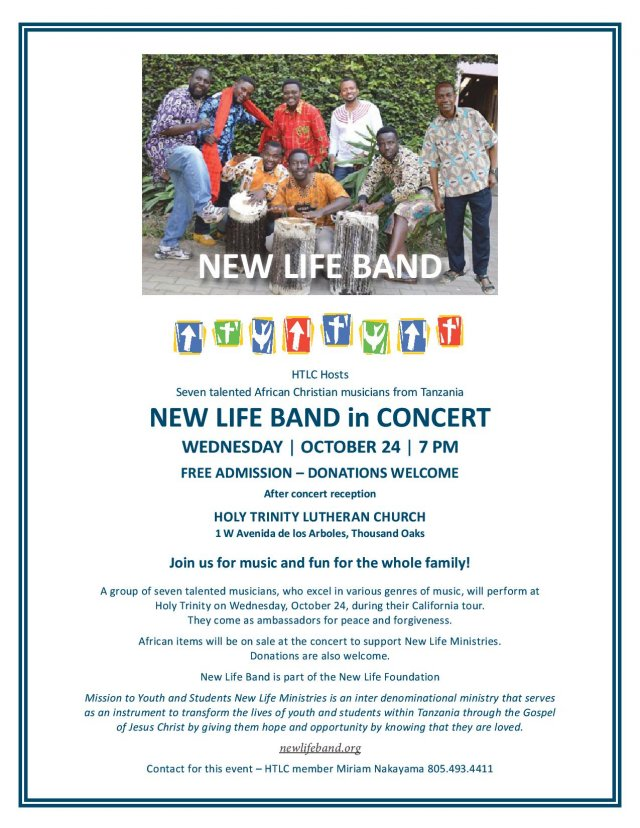 New Life Band in Concert!