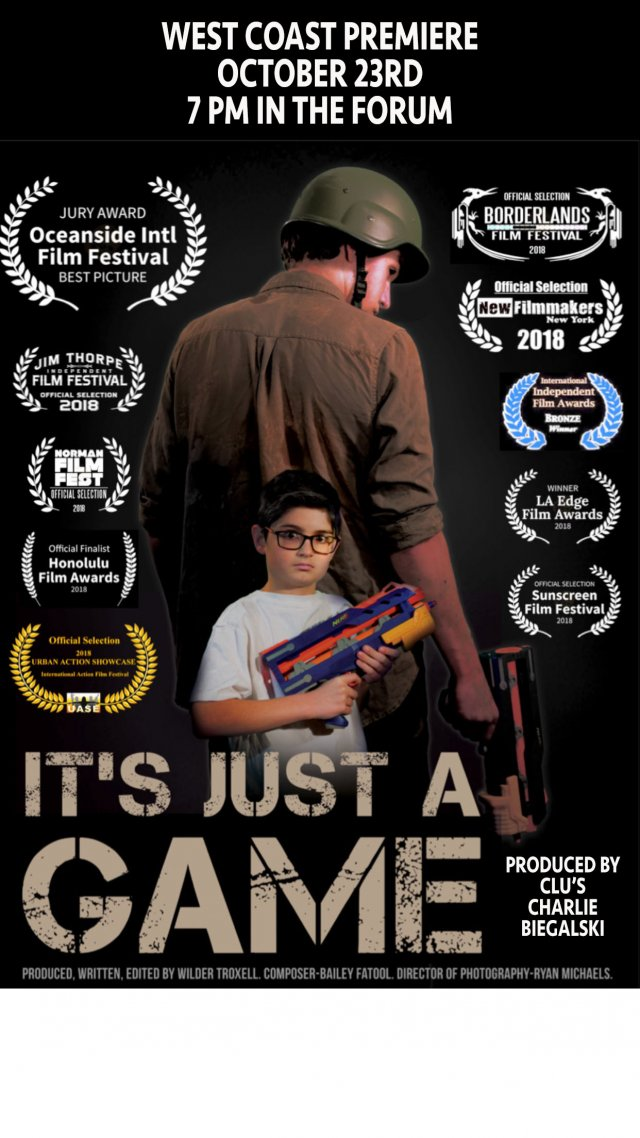 It's Just a Game West Coast Film Premiere