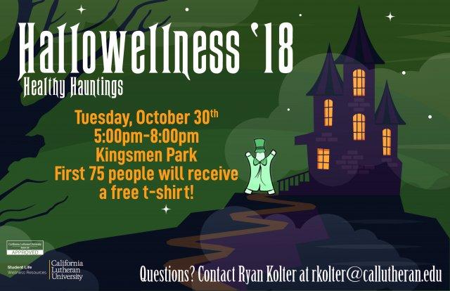 Healthy Hauntings! Hallowellness '18