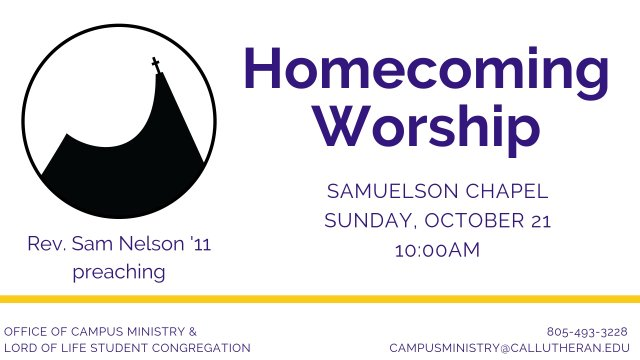 Homecoming Worship