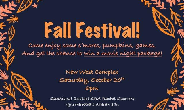 New West Fall Festival