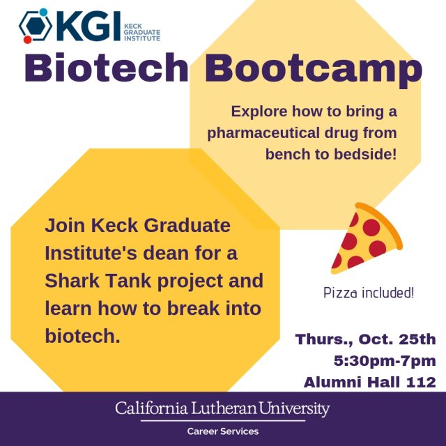 Biotech Bootcamp