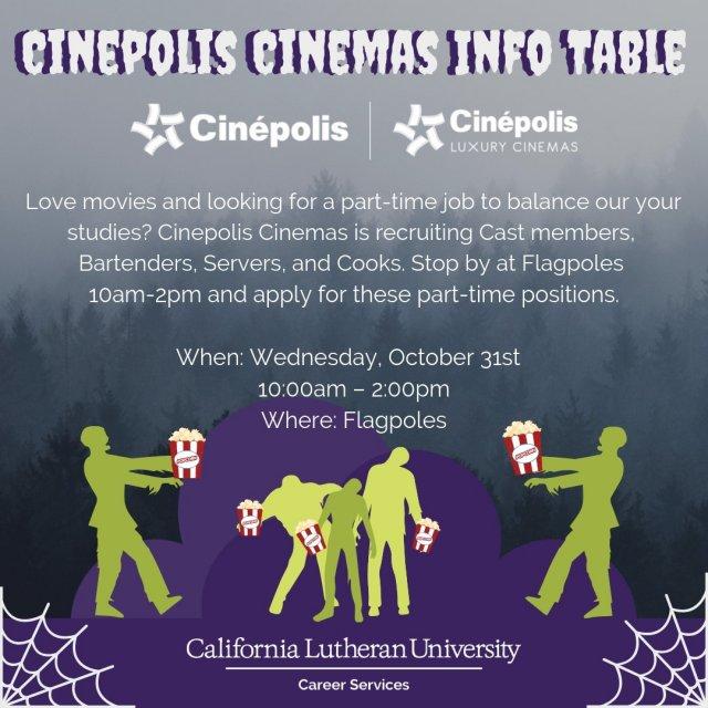 Cinepolis Cinemas Recruiting On Campus