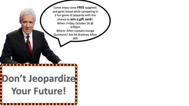 Don't Jeopardize Your Future
