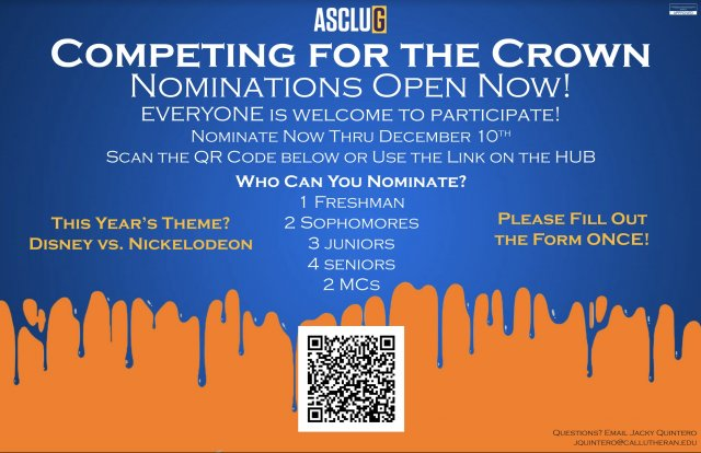 Nominations for Competing for the Crown