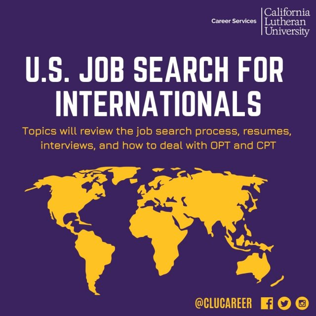US Job Search for Internationals