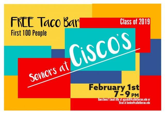 Senior Social at Cisco's