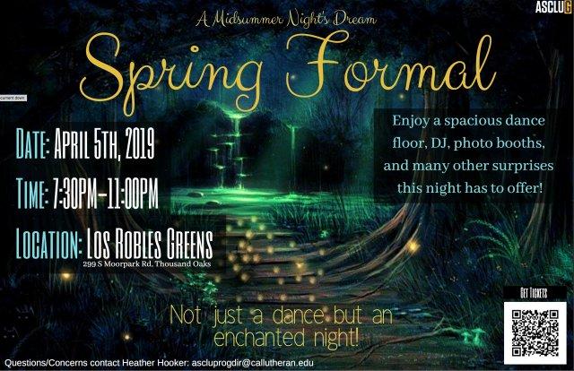 ASCLUG Presents: Spring Formal