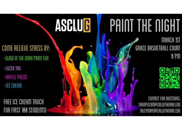 ASCLUG Presents: Paint the Night