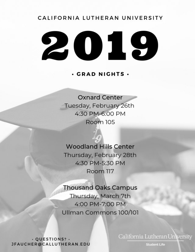 Grad Night: Thousand Oaks Campus