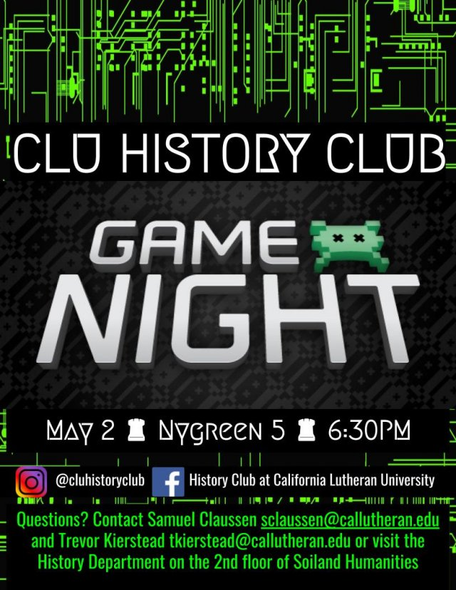 History Club: Game Night