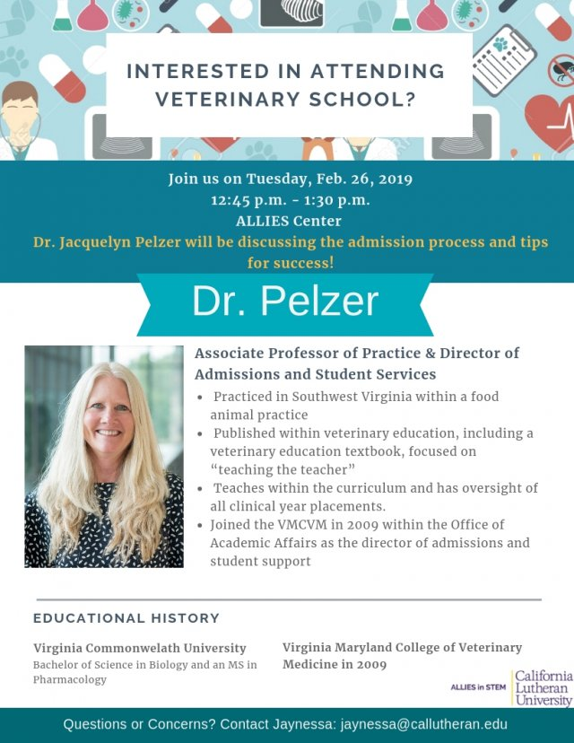 Veterinary School Discussion