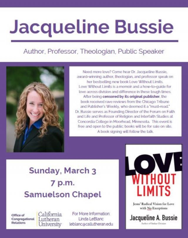 Love without Limits - Jacqueline Bussie