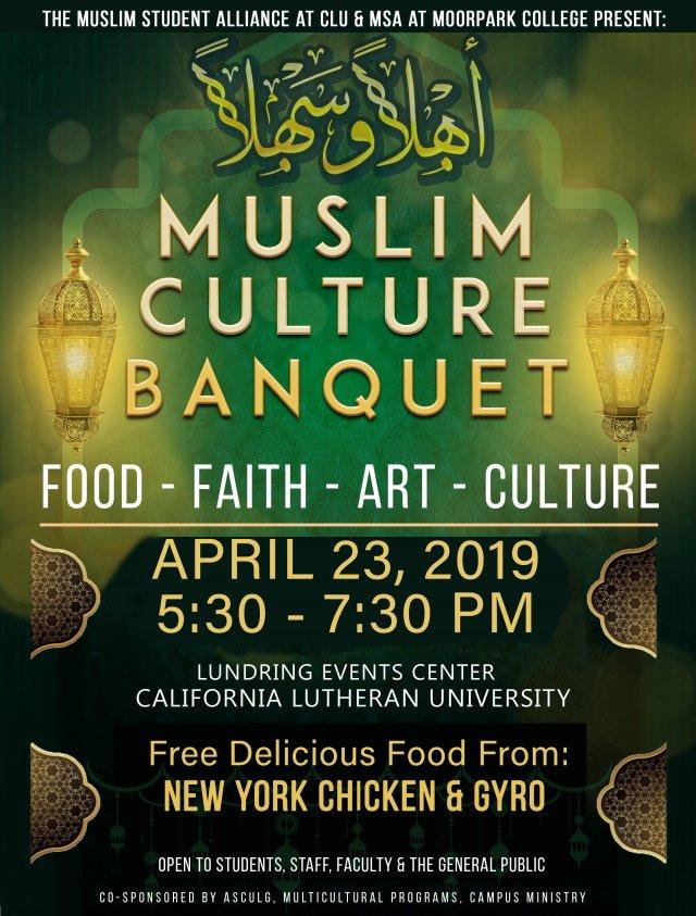 Muslim Culture Banquet