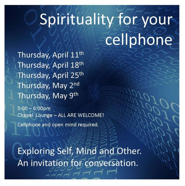 Spirituality for Your Cell Phone
