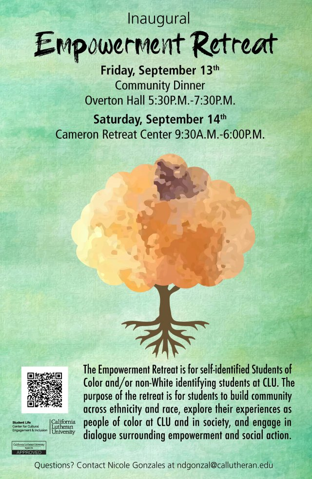 Empower: Inaugural  Students of Color Retreat