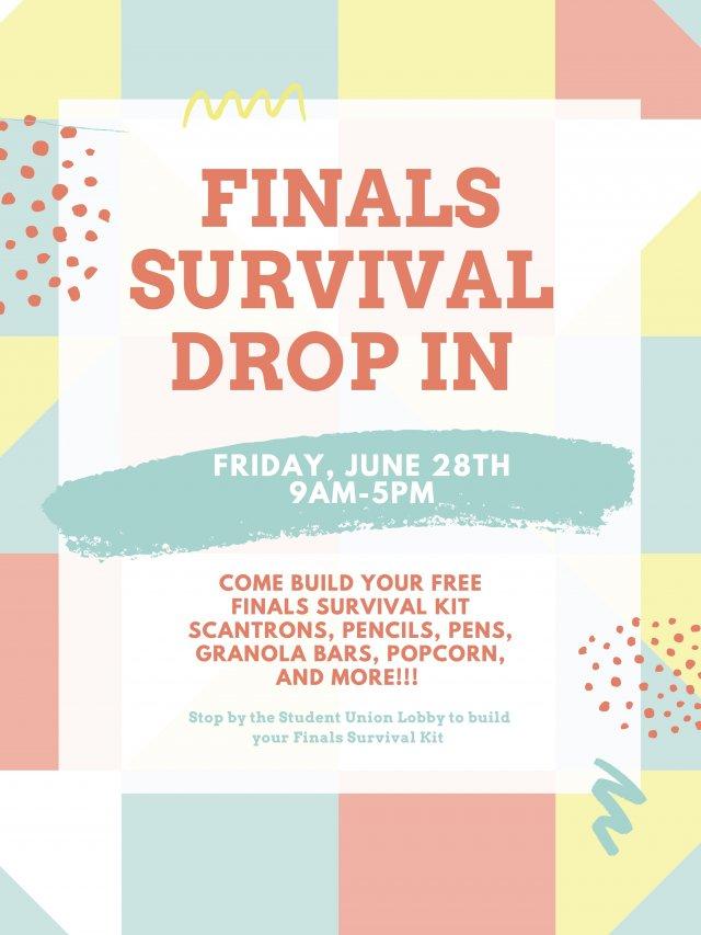 Finals Survival Drop In
