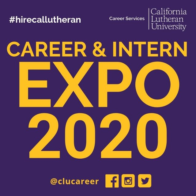 Career & Intern Expo 2020