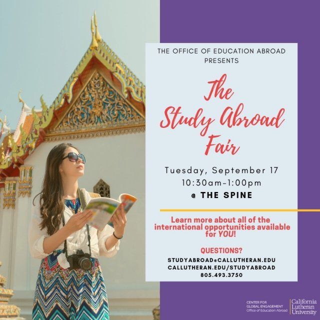 The Study Abroad Fair