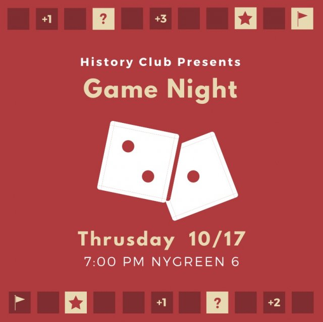 History Club Game Night