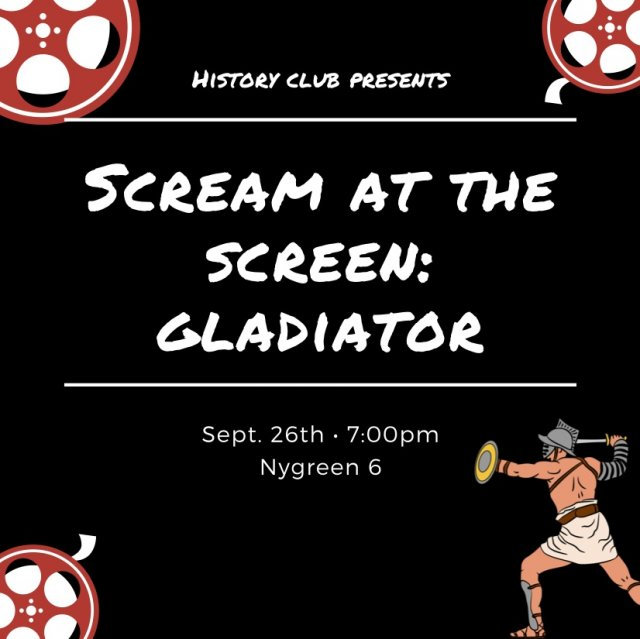 Scream at the Screen: Gladiator