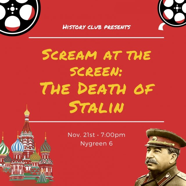 Scream at the Screen: The Death of Stalin