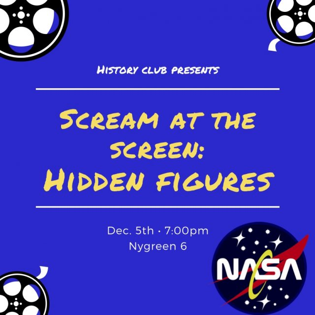 Scream at the Screen: Hidden Figures