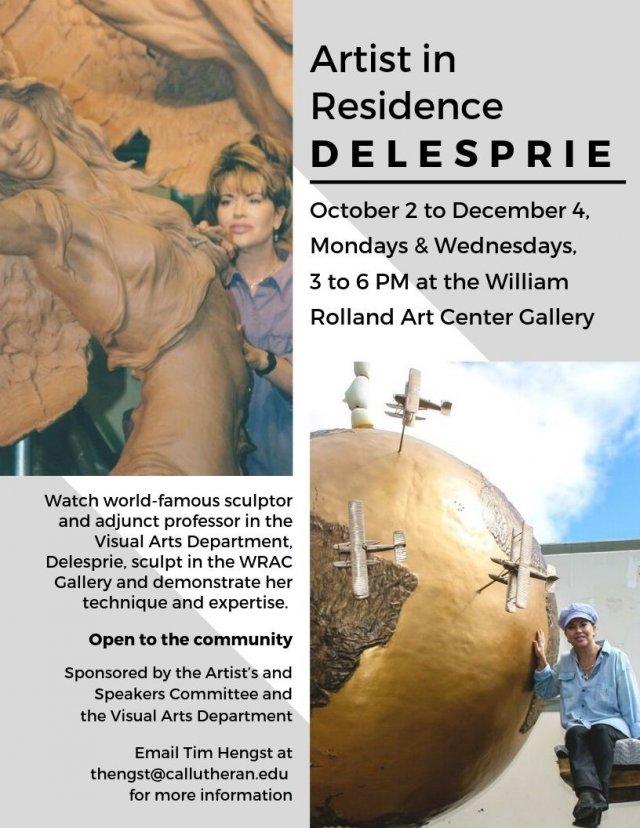 Artist in Residence: Delesprie