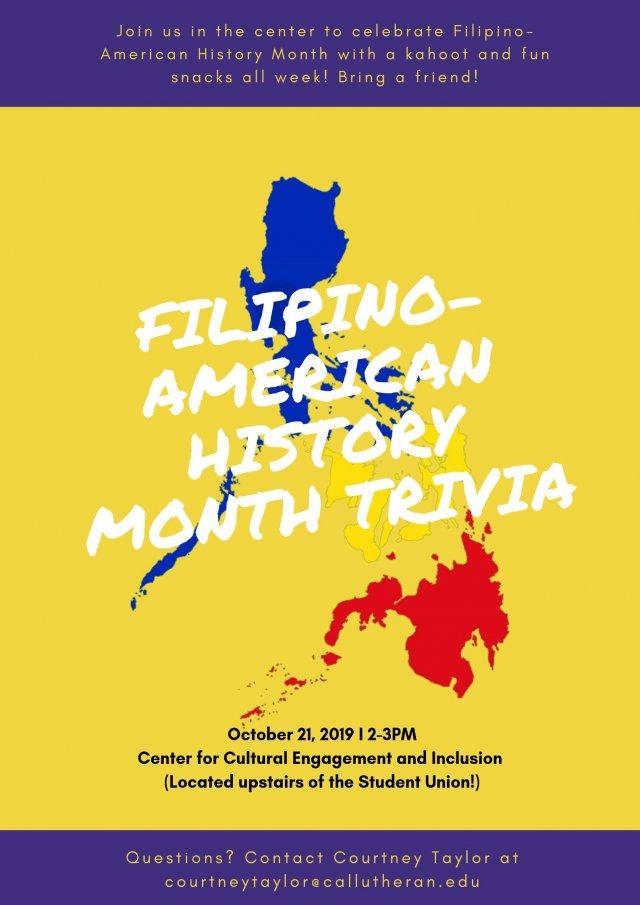 Filipino History Month Trivia + Filipino Snacks